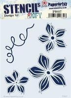 Paper Artsy - Stencil 057, Sapluuna
