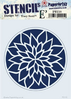 Paper Artsy - Stencil 110, Sapluuna