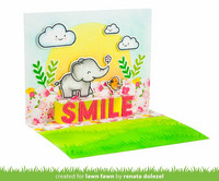 Lawn Fawn - Pop-up Smile, Stanssi