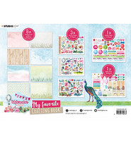 Studio Light - My Favourite Crafting Book, Watercolor Stories nr.102