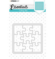 Studio Light - Cutting Die Small Shape Square Puzzle Essentials nr.388, Stanssisetti