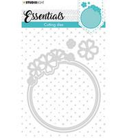 Studio Light - Cutting Die Small Shape Round Flower Essentials nr.387, Stanssisetti