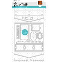 Studio Light - Cutting Die Die Journal Essentials nr.383, Stanssisetti