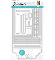 Studio Light - Cutting Die Die Journal Essentials nr.381, Stanssisetti
