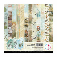 Ciao Bella - Delta Double-Sided Paper Pad 6