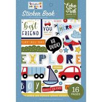 Echo Park - Little Dreamer Boy, Sticker Book, Tarrasetti