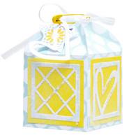 Studio Light - Cutting Die Die Giftbox Square Essentials nr.393, Stanssisetti