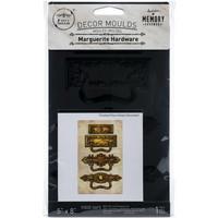 Prima Marketing - Decor Mould, Marguerite Hardware, Silikonimuotti