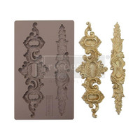 Prima Marketing - Decor Mould, Sicilian Plates, Silikonimuotti