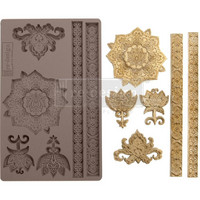 Prima Marketing - Decor Mould, Agadir Patterns, Silikonimuotti