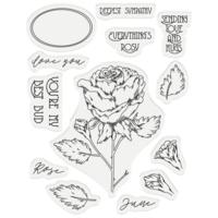 Gemini - Stamp & Die, June Rose, Stanssi- ja leimasetti