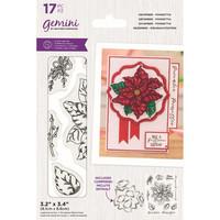 Gemini - Stamp & Die, December Poinsettia, Stanssi- ja leimasetti