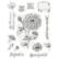 Gemini - Stamp & Die, October Marigold, Stanssi- ja leimasetti