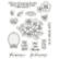 Gemini - Stamp & Die, February Primrose, Stanssi- ja leimasetti