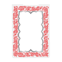 Crafter`s Companion - Sara Signature Collection  Caring Thoughts, Cut and Emboss Folder, Filigree Border