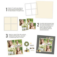Simple Stories - Simple Pages Page Template 5, Sapluuna