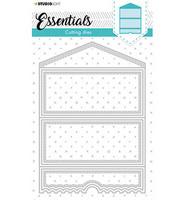 Studio Light - Cutting Die Cardshape Pocket Essentials nr.396, Stanssisetti
