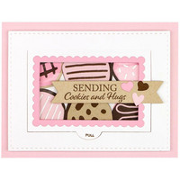 Spellbinders - Etched Dies, Stanssisetti, Sweet Treat Box