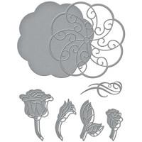 Spellbinders - Etched Dies, Stanssisetti, Sweet Rondure