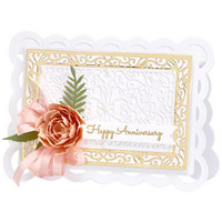 Spellbinders - Etched Dies, Stanssisetti, Scallop Facade Frame
