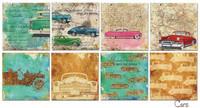 Decorer - Cars, Paper Pack 6