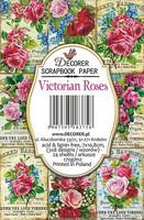 Decorer - Victorian Roses, Korttikuvia, 24 osaa