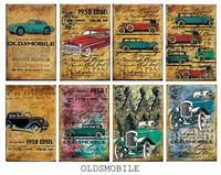 Decorer - Oldsmobile, Korttikuvia, 24 osaa