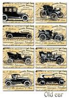 Decorer -  Old Car, Korttikuvia, 24 osaa