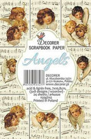 Decorer - Angels, Korttikuvia, 24 osaa