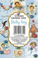 Decorer - Baby boy, Korttikuvia, 24 osaa