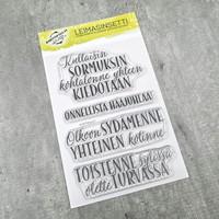 Korttipaja.fi - Hääjuhlaan, Leimasinsetti