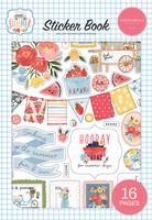 Carta Bella - Summer, Sticker Book, Tarrasetti