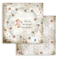 Stamperia - Romantic Threads, Paper Pack 12