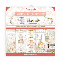 Stamperia - Romantic Threads, Paper Pack 8