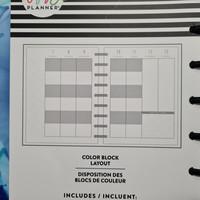 MAMBI - CLASSIC Happy Planner, Kaleidoscope, päivätty 18kk
