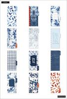 MAMBI - SKINNY CLASSIC Happy Planner, Indigo Tie Dye, päivätty 12kk