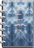 MAMBI - MINI Happy Planner, Indigo Tie Dye, päivätty 12kk