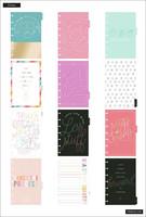 MAMBI - MINI Happy Planner, Budget Line Art, päivätty 12kk