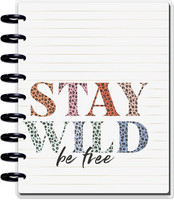 MAMBI - Classic Guided Journal, Colorful Leopard