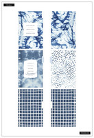 MAMBI - MINI Happy Notes™, Indigo Tie Dye