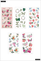 MAMBI - Happy Planner, Tarrasetti, 5 arkkia, Spring Florals
