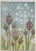 PaperArtsy - Stencil 083, Sapluuna