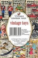 Decorer - Vintage Toys, Korttikuvia, 24 osaa