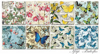 Decorer - Butterflies, Paper Pack 6