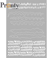 Pronty Crafts - Strokes, A5, Sapluuna