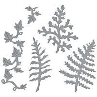 Spellbinders - Etched Dies, Stanssisetti, Ferns & Ivy