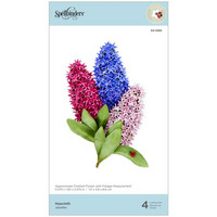 Spellbinders - Etched Dies, Stanssisetti, Hyacinth