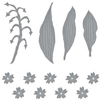 Spellbinders - Etched Dies, Stanssisetti, Lily Of The Valley