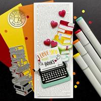 Hero Arts - Typewriter, Stanssi