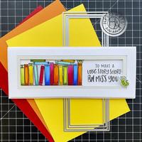 Hero Arts - Slimline & Bookmarks, Stanssisetti